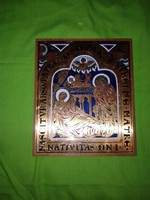 Szent családot ábrázoló ikon, szakrális fali kép