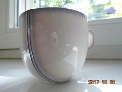 Designer kerámia kávés csésze-különleges forma és színvilággal -újszerű (1)