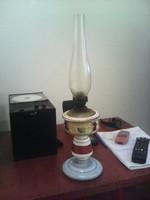 Régi petróleum lámpa petróleumlámpa