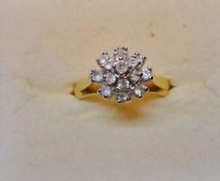 Szépséges antik gyűrű csodás ékszerkövekkel