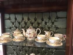 Zsolnay 6 sz pillangó teás