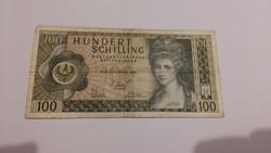 Ausztria 100 Shilling 1969.