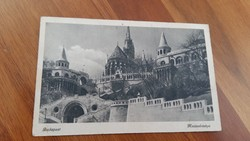 Budapest Képeslap Halászbástya 1943.