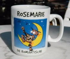 Rosemarie die Romantische - bögre - Made in Britain Für Hapter