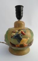 Donald kacsás kerámia lámpatest - Dr. Rank