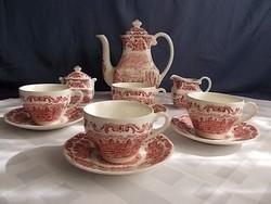 Angol pink 4sz teás készlet