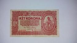 2 korona 1920 -as csillagos !