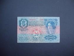 20 korona 1913 I. kiadás Felülbélyegzés nélkül  02