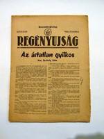 REGÉNYÚJSÁG1948szeptember9RÉGI ÚJSÁG899
