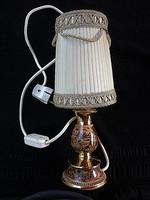 Olasz kerámia régi lámpa