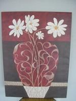 Váza virággal kép