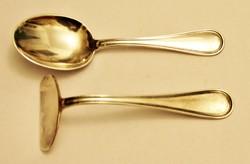 Ezüst baba etetőkészlet ~45 g