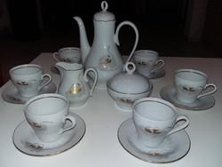 Eredeti Henneberg 1777 porcelán kávés készlet eladó!