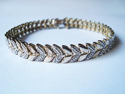 Aranyozott ezüst karlánc