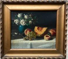 Molnár Z. János - Gyümölcs Csendélet