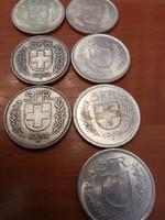 Svajci érmék