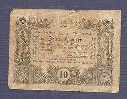 10 Kreuzer 1860