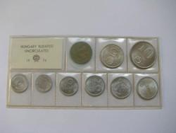 Forgalmi forint sor 1974. UNC