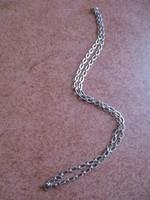 Uniszex ezüst lánc