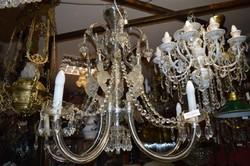 Különleges muránói üveg csillár