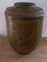 Amtik, népi,  kínai madaras váza
