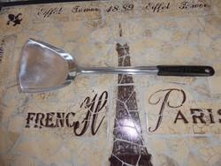 Retro acél spatula műanyag nyéllel 555 Made In China 80-s évek