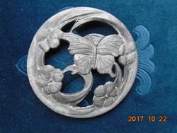 Virágos-pillangós-párologtató fedél-8 cm