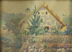 0O695 Ritter jelzéssel : Vidéki ház