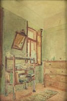 0O694 Ismeretlen festő : Enteriőr