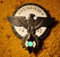 Kitüntetés kreissieger 1942
