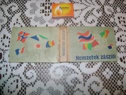 Nemzetek zászlói - 1968 - könyv eladó