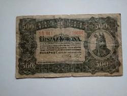 1923-as 500 Korona VF