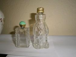 2 db régi Illatszeres üveg