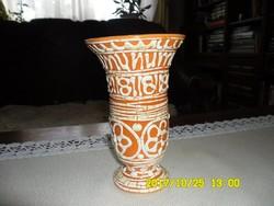 GORKA GÉZA  zsűrizett  váza