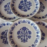 6 db Alföldi porcelán falitál