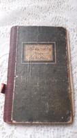 Antik bérleti szerződés könyve, iratai.