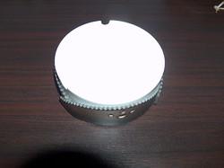 Modern hamutartó, bőr porcelán kombináció