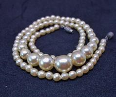Szép kis antik gyöngy nyakék