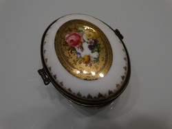 Limoges porcelán ékszeres doboz