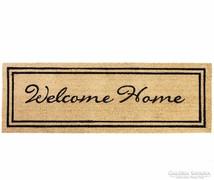 ÚJ! Welcome Home bejárati szőnyeg 100% kókuszrost 120x40 cm