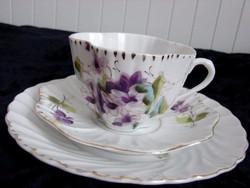 Antik szecessziós Chapman's porcelán 3 részes