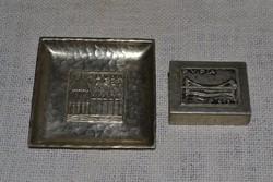 Gyufa tartó és tálka  ( DBZ 0095 )
