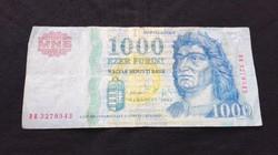 2005 évi 2006,2009 évi 1.000.-Ft-os