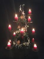 Réz karácsonyfa