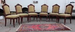 Antik Francia barokk székek !