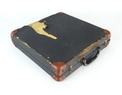 0P353 Régi gramofon lemez tartó táska