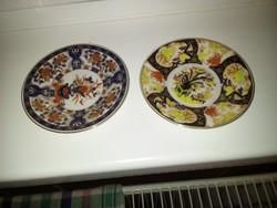 2 db japán kézzel festett tányérka