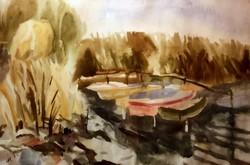 Bernáth Aurél (1895-1982): Csónakok