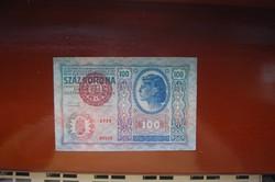 100 korona 1912-es!