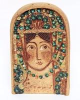 Györgyey Zsuzsanna keriámia falikép